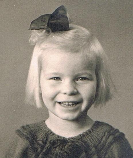 Kirsten ca 5 år