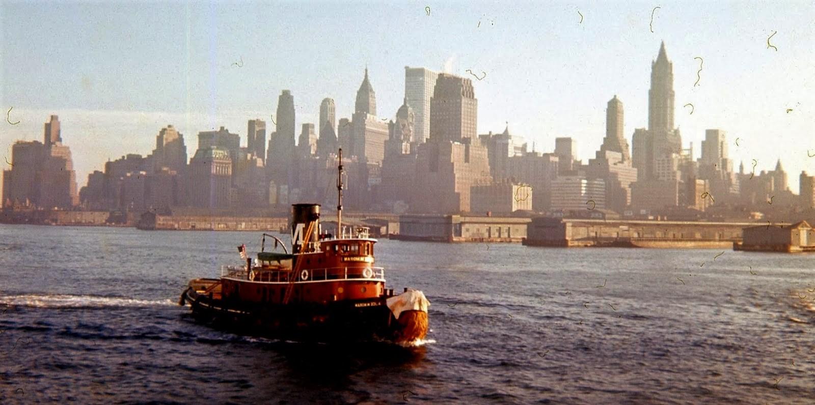 USA New york skyline 1963