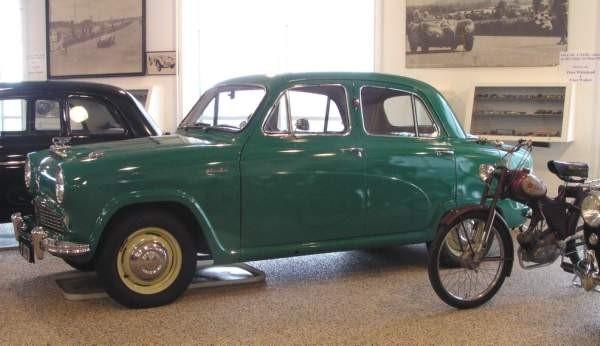 barn50 grøn bil